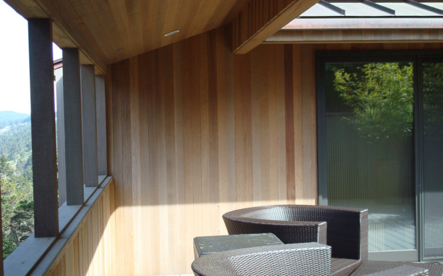 Sonoma County Architect Doug Murray - Nolan Home Remodel – Guest House Deck