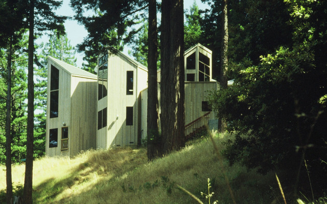 Sonoma County Architect Doug Murray - Dixon House, east elevation