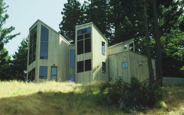 Sonoma County Architect Doug Murray - Dixon House, southeast elevation