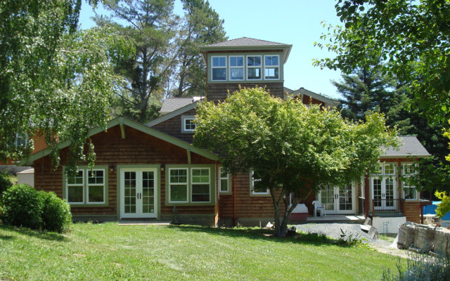 Sonoma County Architect Doug Murray - Sebastopol House, West Elevation